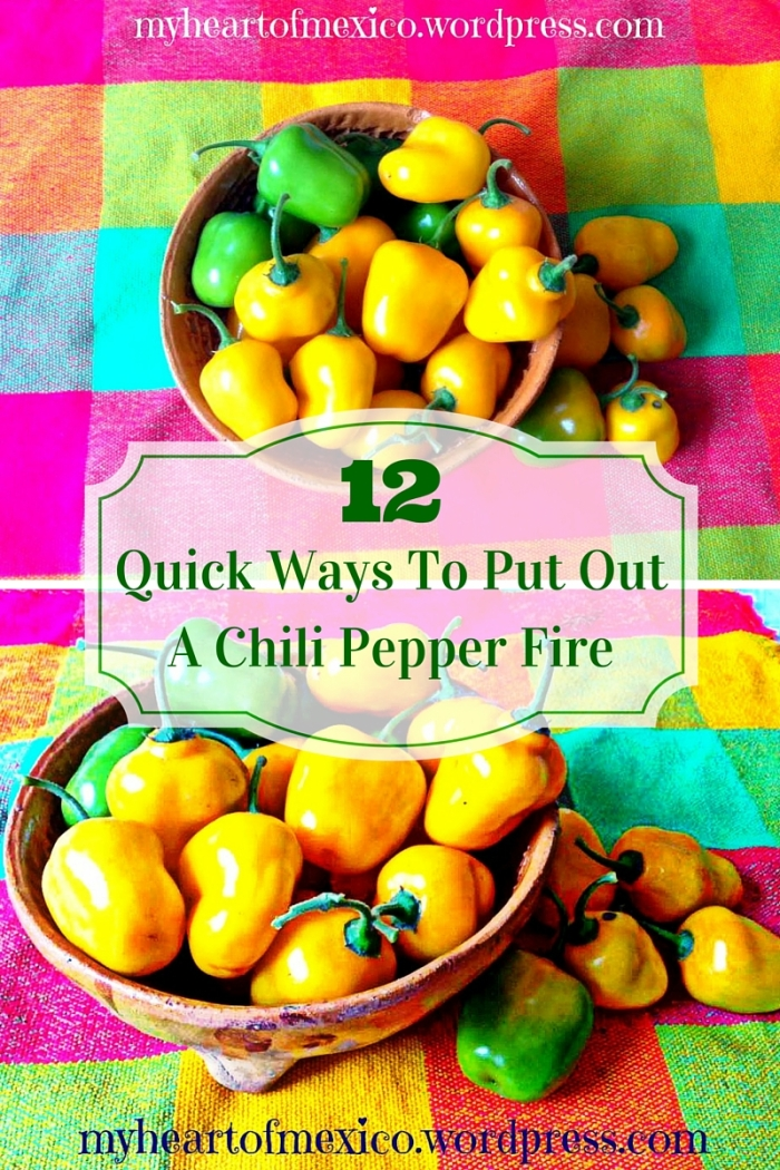 12 Quick Ways To Put Out A Chili Pepper Fire