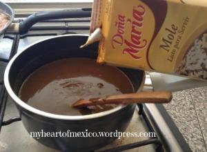 how to make mole sauce