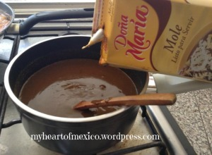 how to make mole sauce