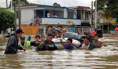 Tabasco floods 2007