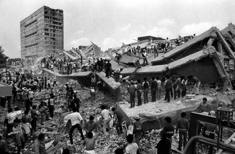 Mexico city earthquake 1985