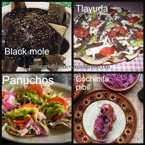 Typical mexican dishes