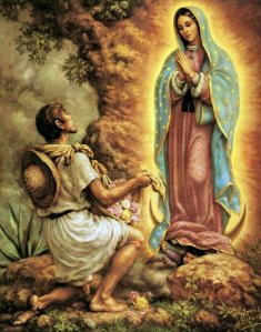 apparition of Our Lady of Guadalupe