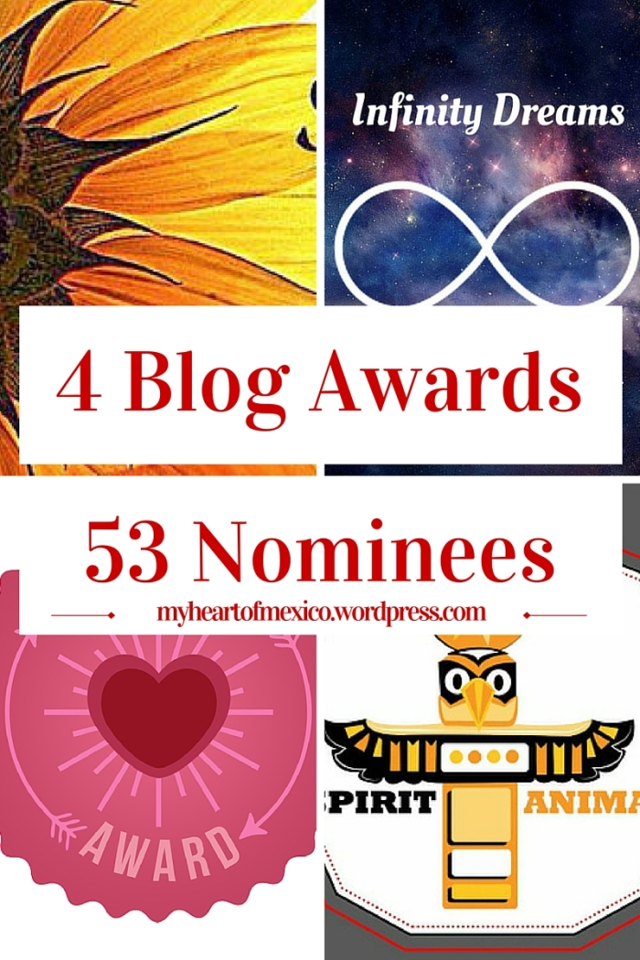 Blog Awards pin