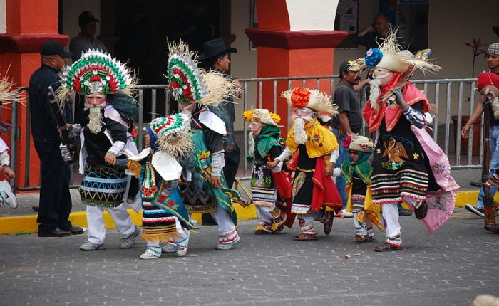 Carnival costume in Mexico