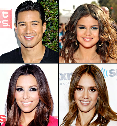 Celebrities of Mexican descent