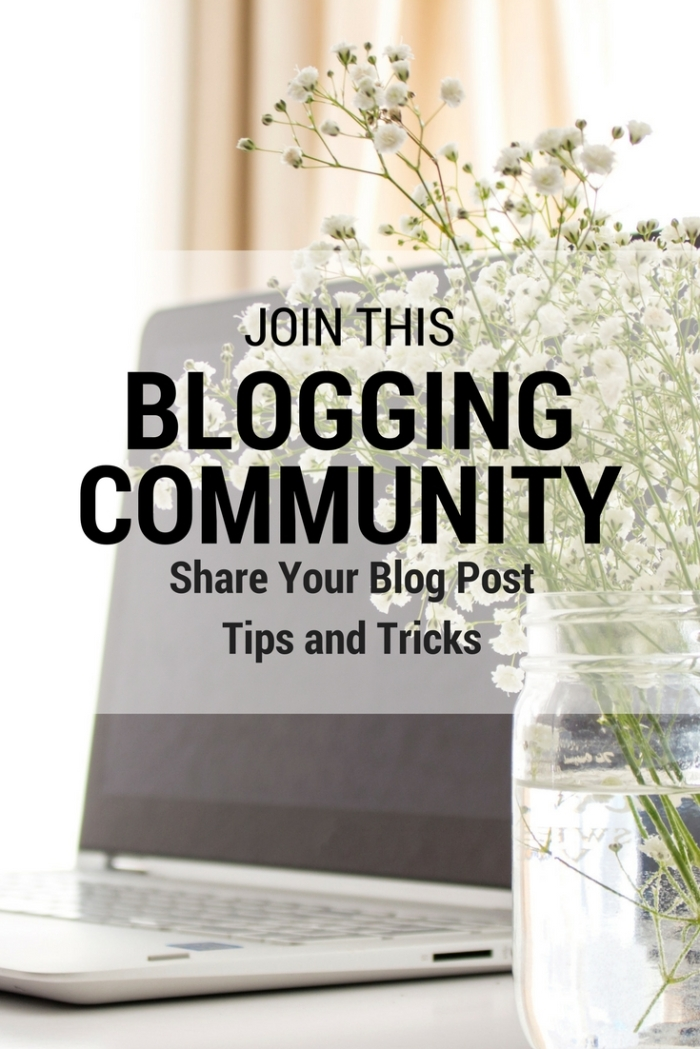 Join this blogging community now