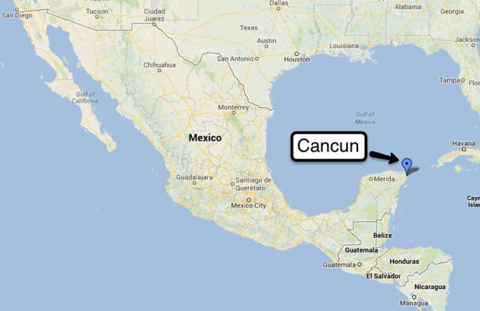 1 Cancun : Mexico