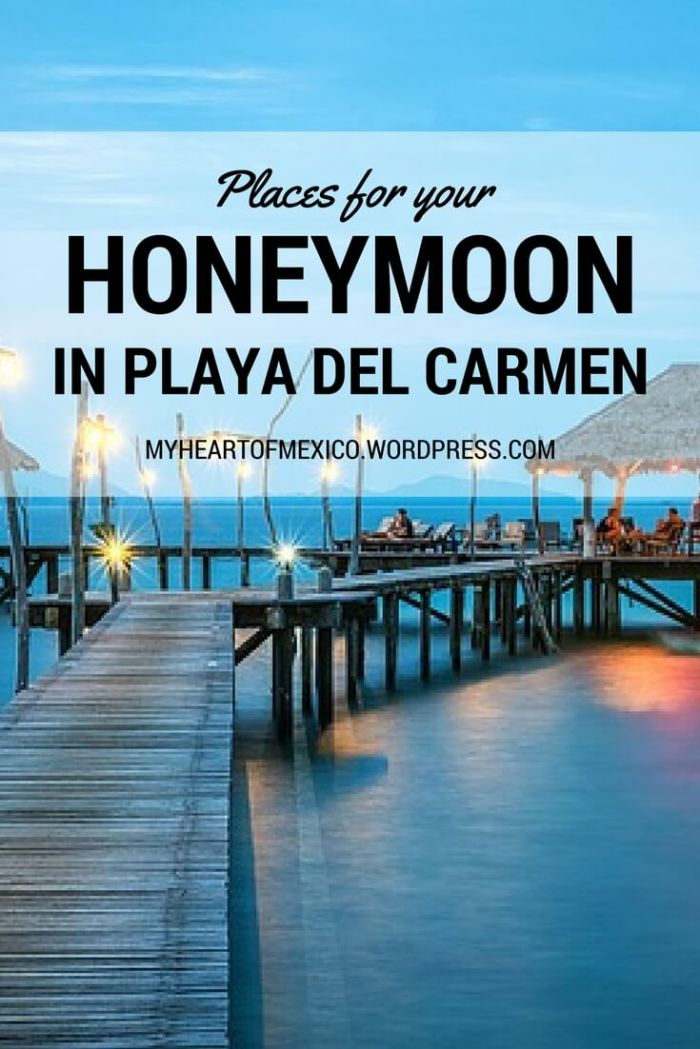 Honeymoon in Playa del Carmen