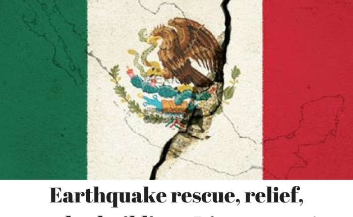 Earthquake rescue, relief and rebuilding–It's up tome!