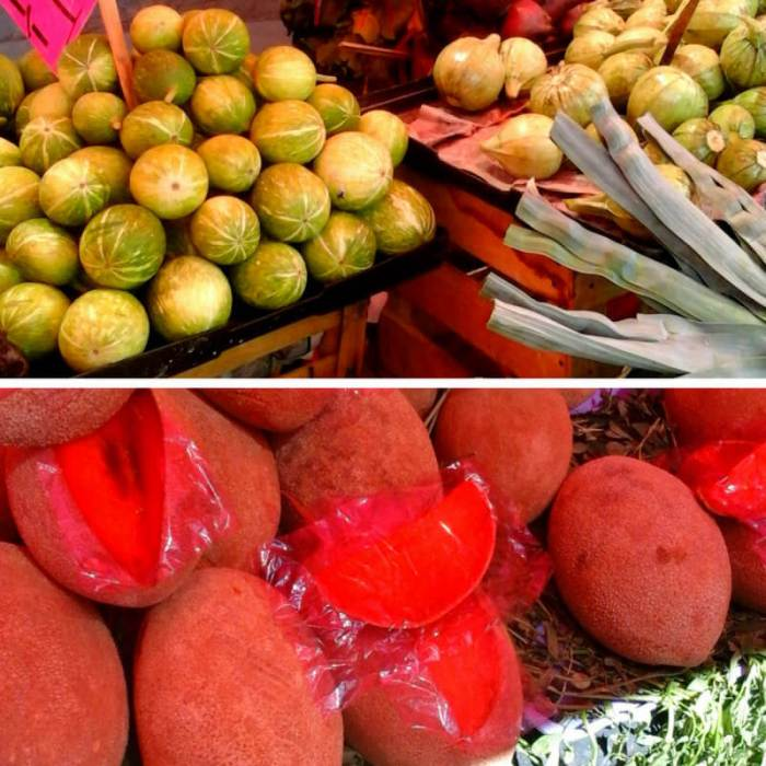 Mexican Market Foods Mamey Chilacayote
